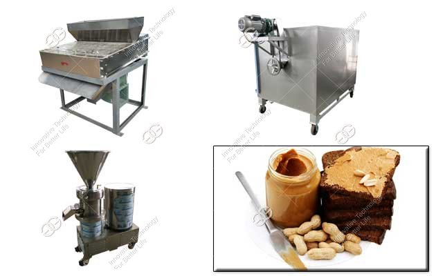 peanut butter processing plant