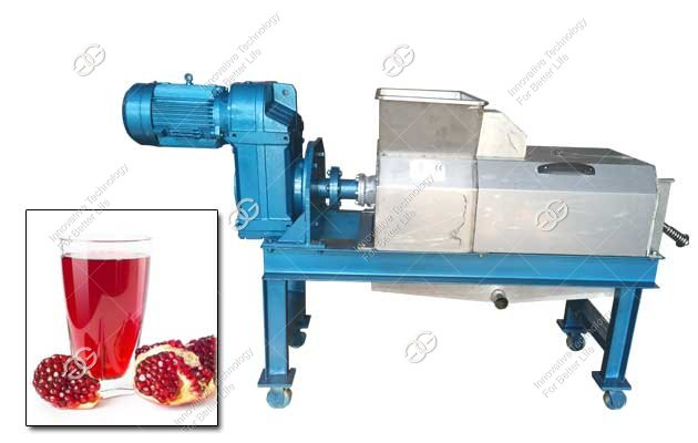 how to make pomegranate juice with a machine