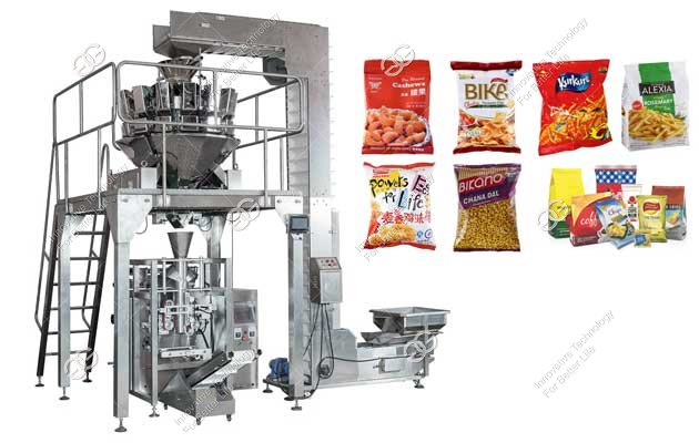 french fries packing machine for sale