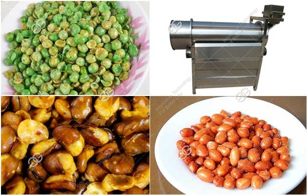 peanut green peas seasoning machine