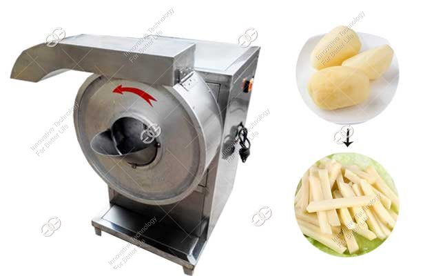 french fries cutting machine