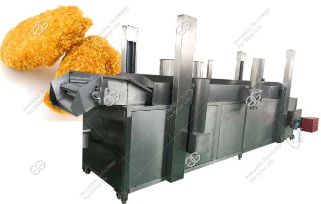 chicken nuggets fryer machine