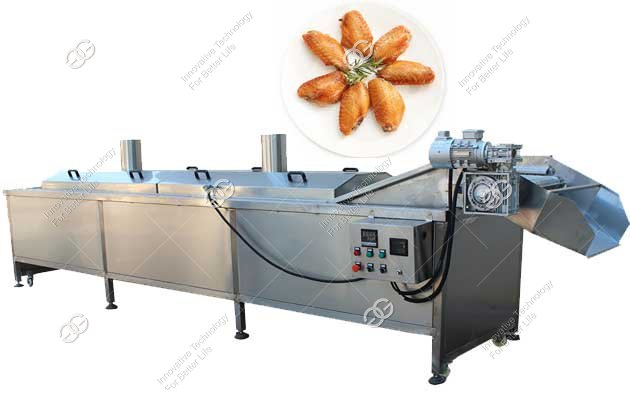 chicken wings frying machine