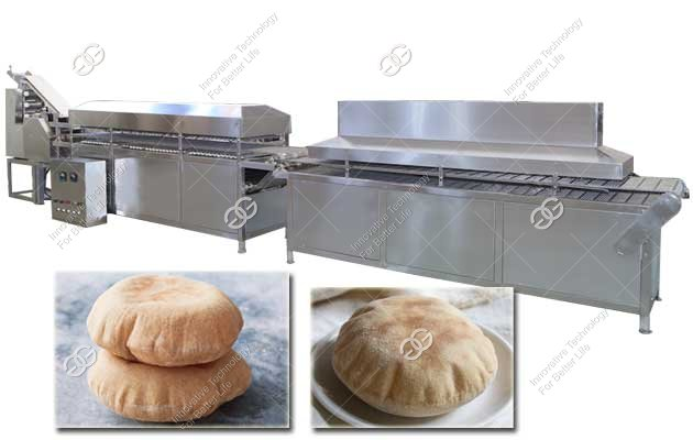 arabic pita bread production line