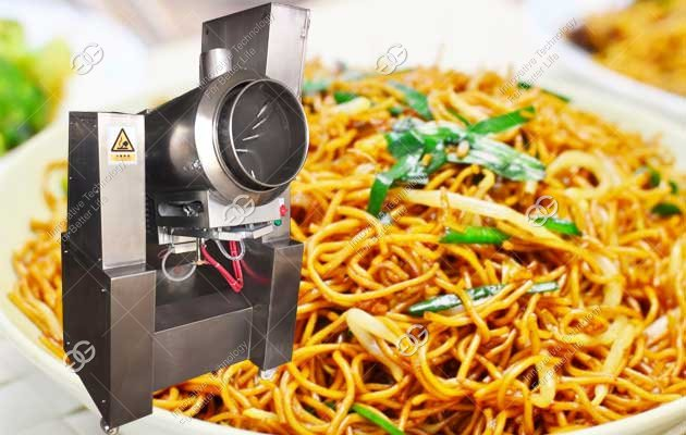 fried noodle making machine