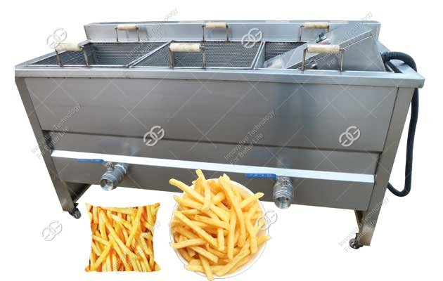 Frying French Fries Machine