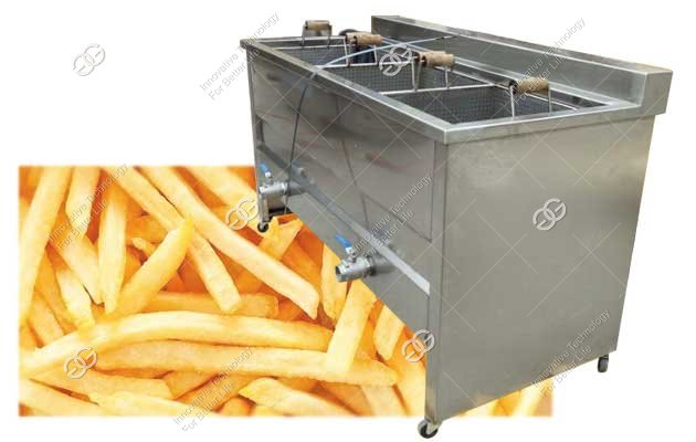 french fries deep fryer machine