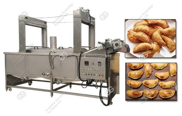 empanadas frying machine