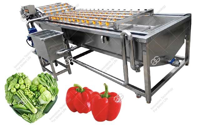 commercial vegetables washing machine