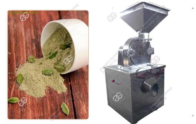 cardamom powder grinding machine