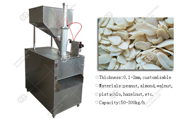Almond & Peanut Slicing Machine