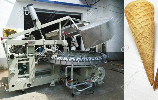 Full Automatic Cone Making Machine