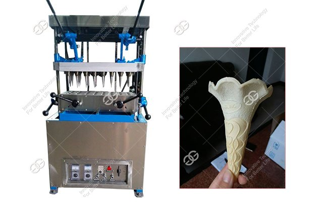 Semi Automatic Ice Cream Cone Machine