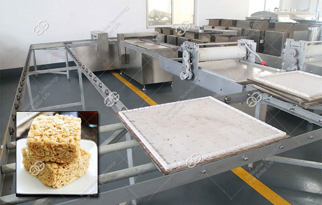 Crispy Caramel Treats Production Line