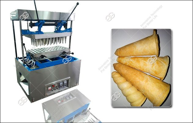 Stainless Steel Pizza Cone Making Machine