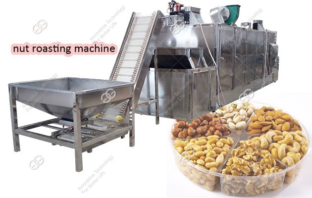 Industrial Nut Roasting Machine