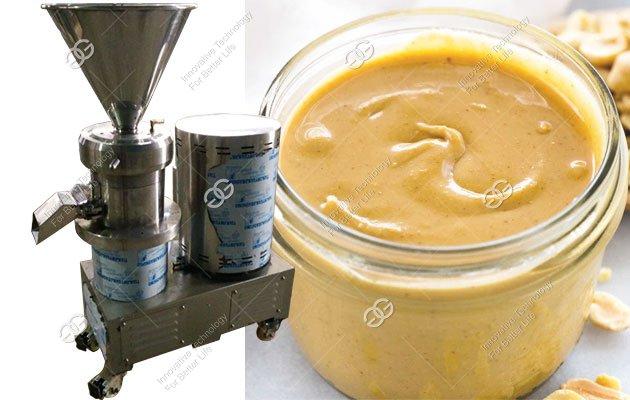 Peanut Butter Grinding Machine