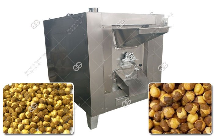 Electric Chana Roaster Machine