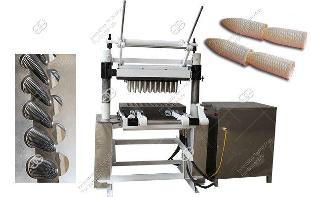 Machine Making Wafer Cones