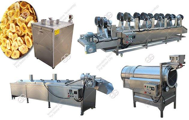 Banana Chips Manufacturing Machine