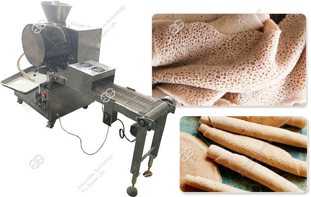 Automatic Injera Making Machine