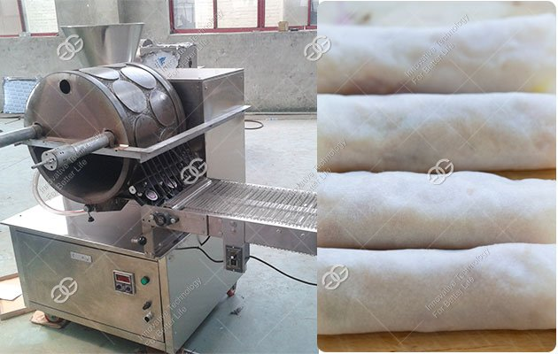 Popiah Skin Machine