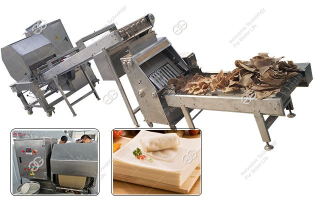 Spring Roll Sheet Machine