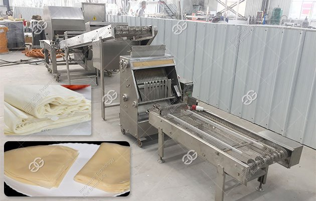 Spring Roll Wrappers Machine