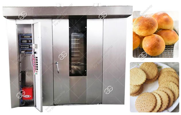 Bakery Rotary Biscuit Oven