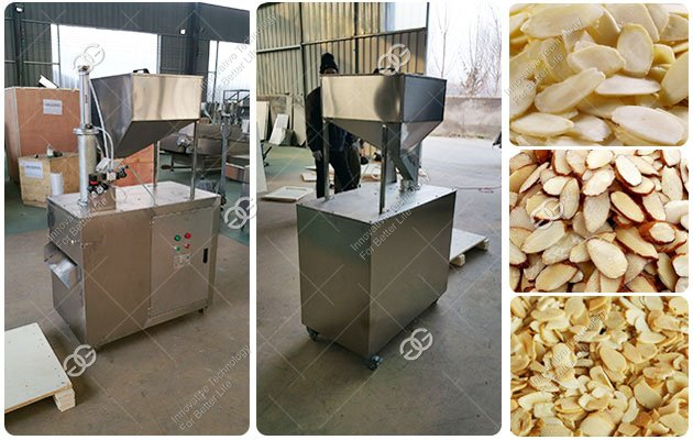 Peanut Almond Slicing Cutter Machine