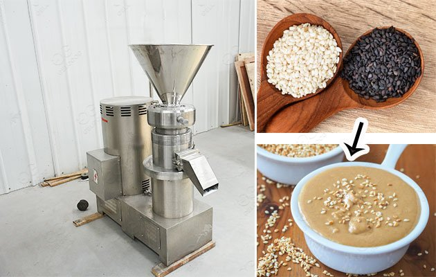 Stainless Steel Sesame Butter Grinding Machine