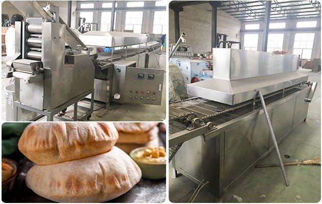 Automatic Khubas Arabic Bread Machine