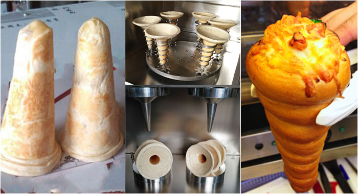 GELGOOG Pizza Dough Cone Forming Machine