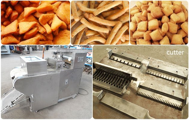 Chin Chin Pastry Cutting Machine For Business