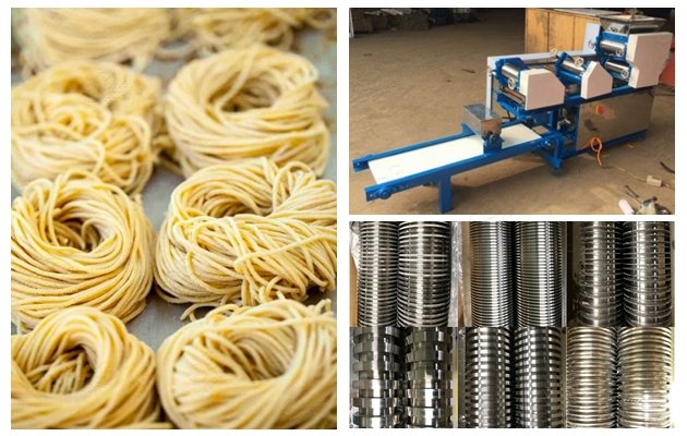 Stainless Steel Fresh Noodles Making Machine