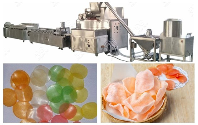 Automatic Shrimp Chips Cracker Making Machine Price