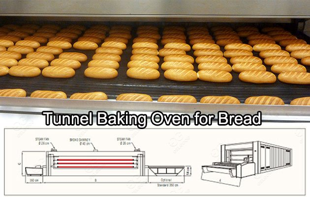 Industrial Tunnel Oven for Bakery