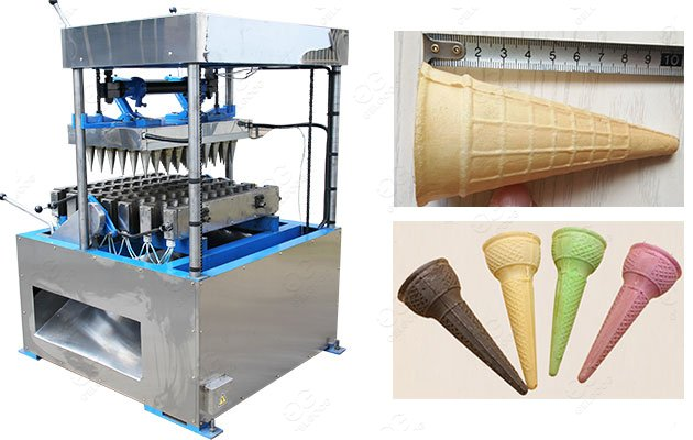 Best Ice Cream Wafer Cone Making Machine with Different Molds