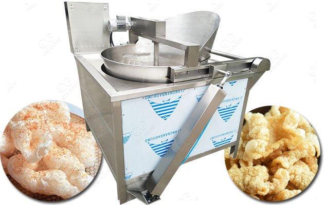 Pork Rinds Fryer Machine For Sale