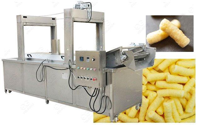 Industrial Puffed Corn Frying Machine