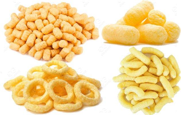 Types of Puff Corn Snacks