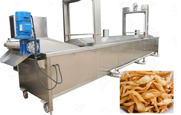 Continuous Frying Machine for Namkeen
