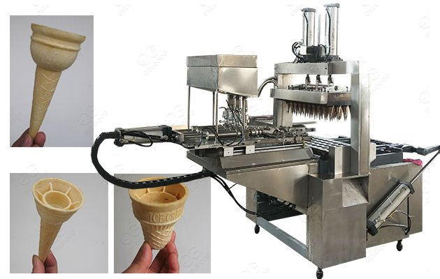 Wafer Cup Making Machine SUS 304