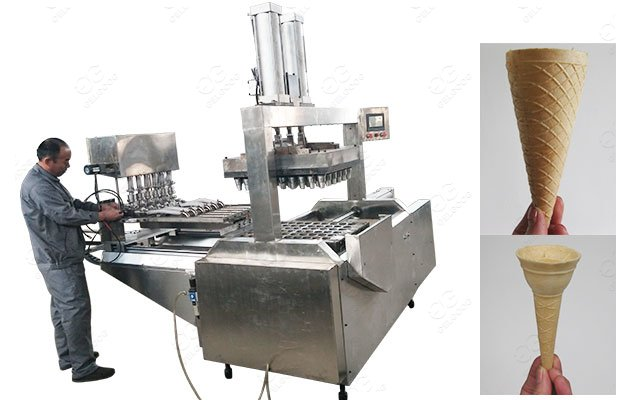 Wafer Cups Making Machine for Ice Cream