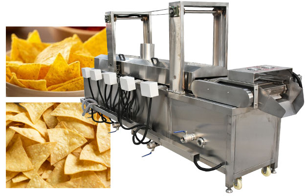 Tostada Shells|Corn Tortilla Chips Fryer Machine Equipment 200KG/H
