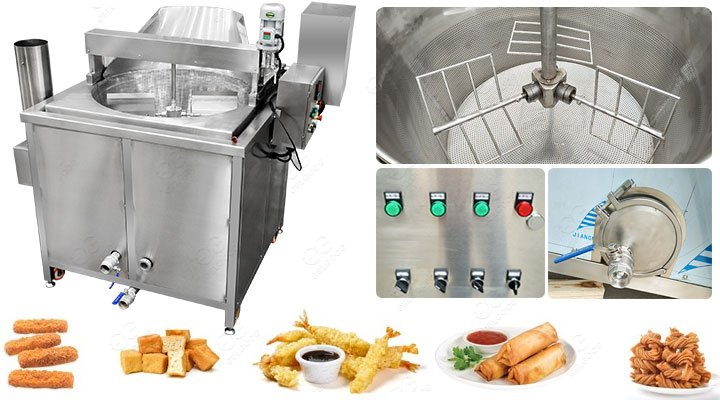 Widely Used Saltenas Frying Machine Automatic