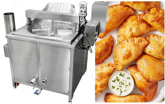 Empanadas Frying Machine in South America
