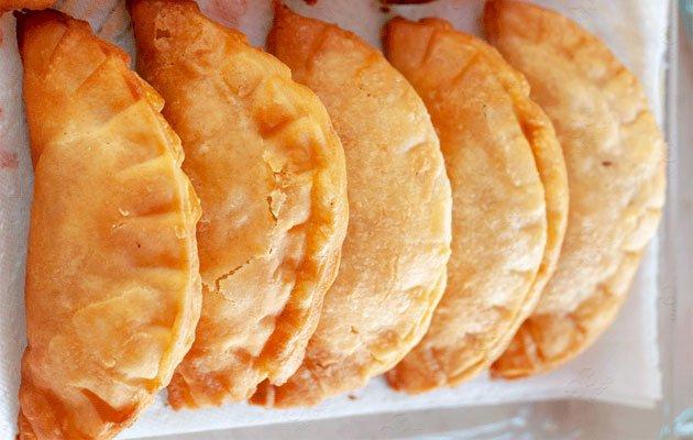 Saltenas Empanadas Food