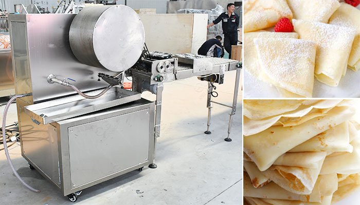 Professional Crepe Machine For Sale