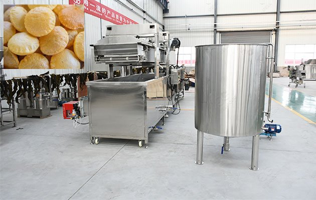 Phuchka Frying Machine with High Quality